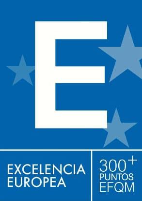 Certificado de calidad excelencia europea